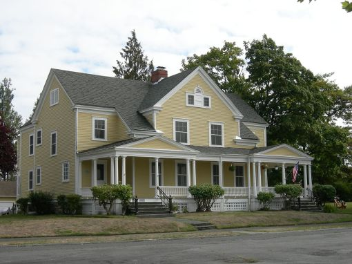 Historic housing in Fort Lawton - Discovery Park